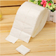nail polishing remover cotton cleaning pads for cosmetic