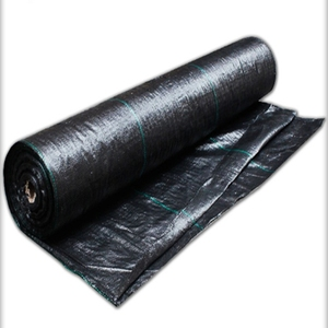 Hdpe plastic weed ground cover anti weed cloth blue pe 200gsm 2m*100m