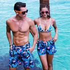 Pocket Quick Dry Breathable Man Oem African Print Mens Bathing Suit Swimwear Swim Trunk