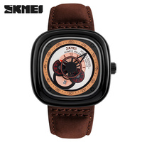 SKMEI 2017 Big dial Classical Japan Movt Stainless Steel Back Quartz Watch
