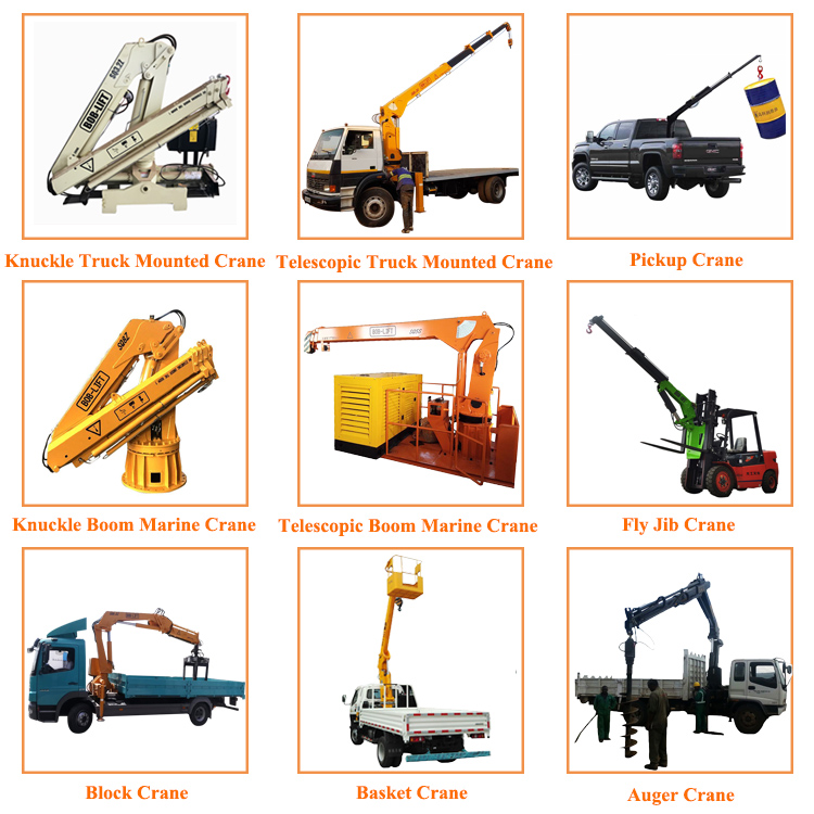 China Hydraulic Forklift Fly Jib Crane for Sale