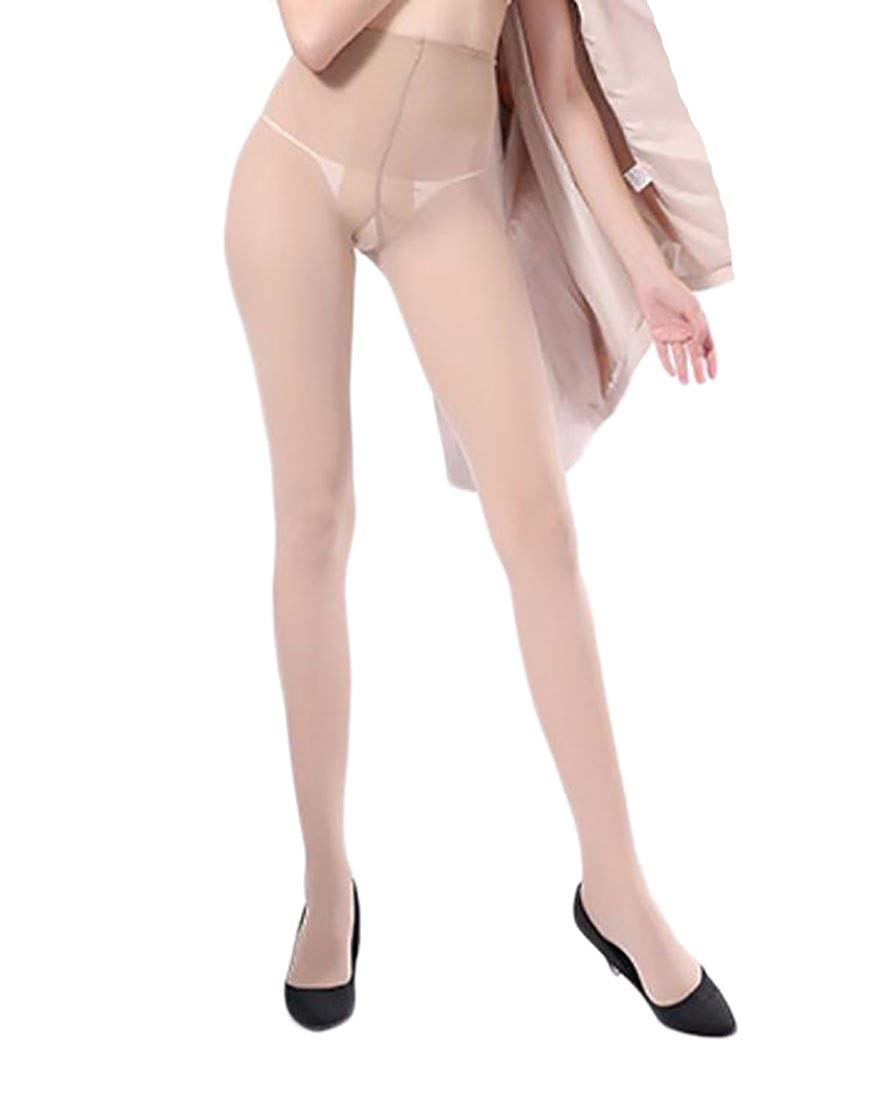 b1cf6dfc346c1 Get Quotations · SportsX Women Sexy Thin Tights Control-Top Microfibre  Glossy Pantyhose