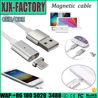 Top 3 factory!China Supplier magnetic charging cable micro usb Charging Cable Magnetic Adapter Charger For Android