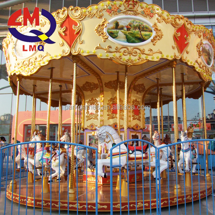 Sturdy And Durable Park Simple Carousel With Animatronics Alibaba Com