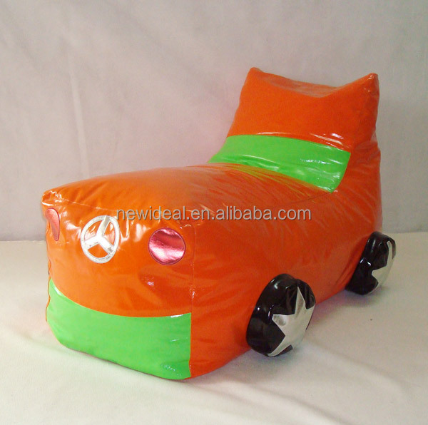 Good quality safe and Lovely kids beanbag chair in truck shape (NW929)