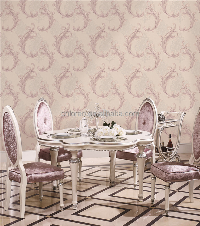Loren Phoenix tail pattern for vinyl wallpaper living room 3d wallpaper(CL11253)