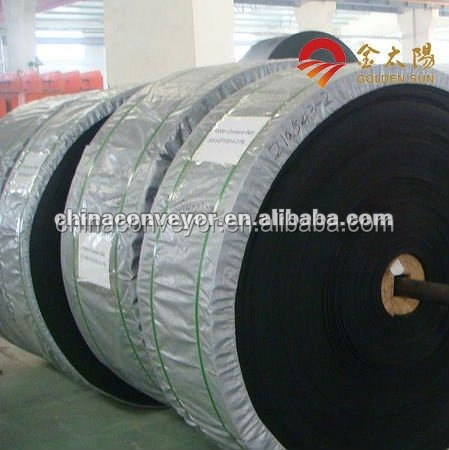 Newest cotton canvas carcase conveyor rubber belt for coal washing industry by CE/ISO largest manufacturer