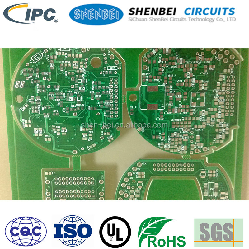 High-end consumer electronics FR-1 FR-4 Custom Prototype multi-layers board pcb rogers 4003c cfl pcb