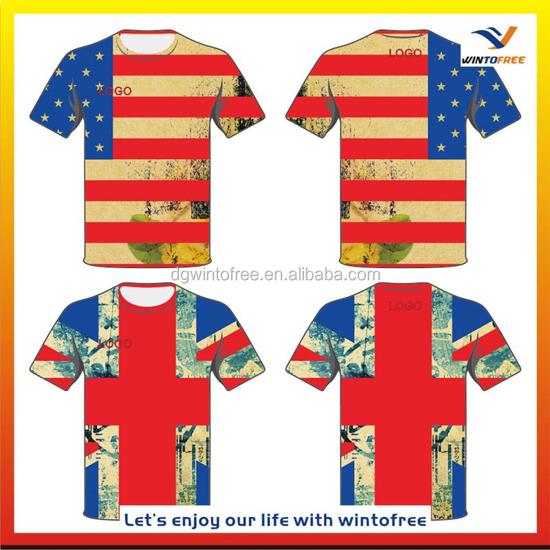 6bfb0d7c0 Custom design Marathon Running singlet & T-Shirt Sublimation 3d custom  men's t shirt