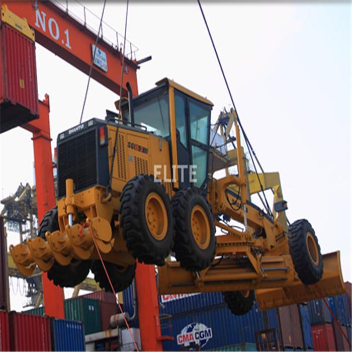 motor grader shipping