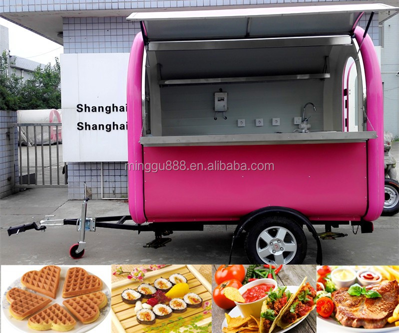 Top Selling Mobile Fast Food Truck With CE