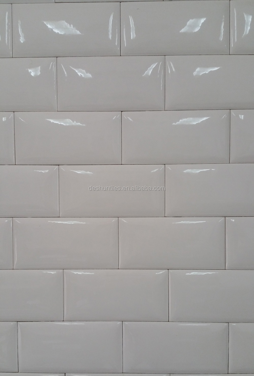 75x152mm Bathroom Wall Decorative Subway Bathroom Tile Board Wall