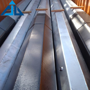 Wholesale distribution equipment galvanized electric power transmission tubular steel pole