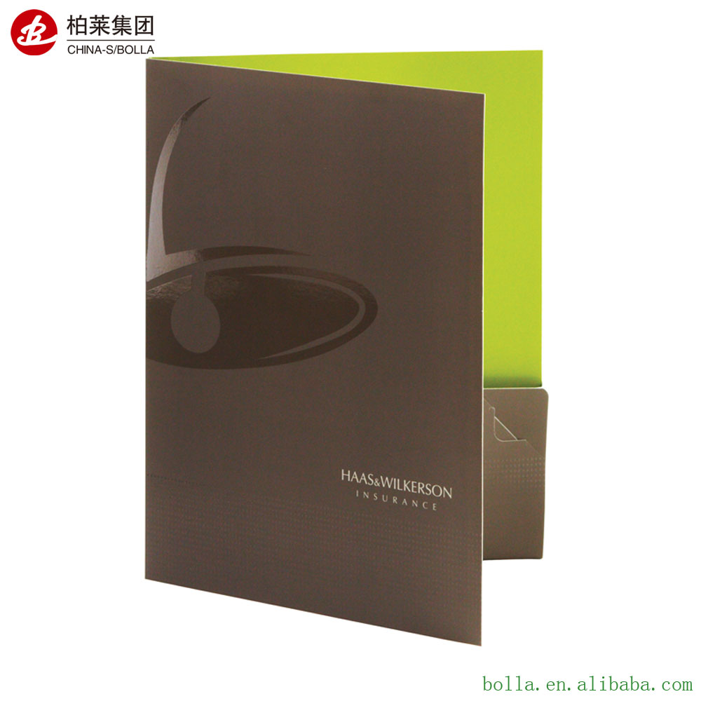 Professional High Quality Cheap Presentation Folder Printing