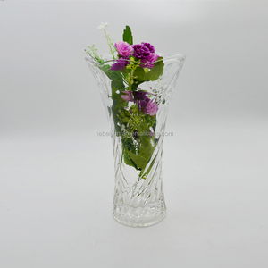 All kinds of cheap tall flower vase glass vase for decoration