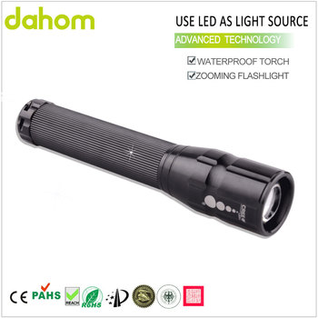 High Lumen Torch Sos Zoom Dimmer Best Waterproof Led Flashlight ...