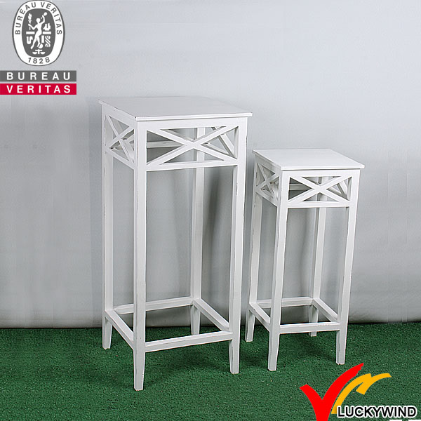 Monarch Specialties White Indoor Plant Stand-I 2479 - The Home Depot