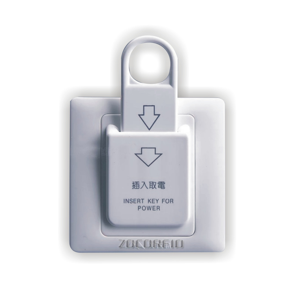 86X86mm High Grade Hotel Magnetic Card <strong>Switch</strong> 220V/25A ,energy saving <strong>switch</strong>,Insert Key for power