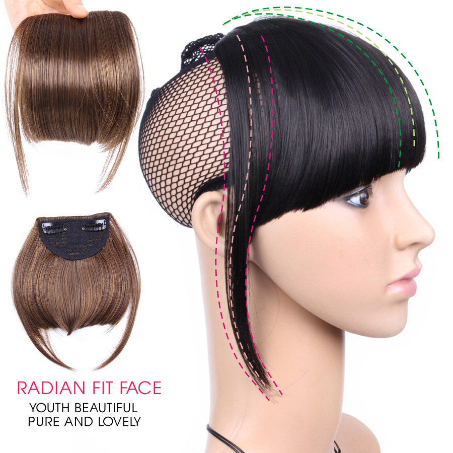 Welcome custom Clip In Human Hair Extension Bangs