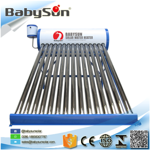 2018 non-pressurized ETC rooftop solar water heater system solar water heater prices