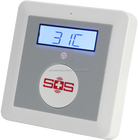 Wireless senior health alarm,SOS emergency SMS alert,remote auto dialer for elderly,elderly lonely caring k4