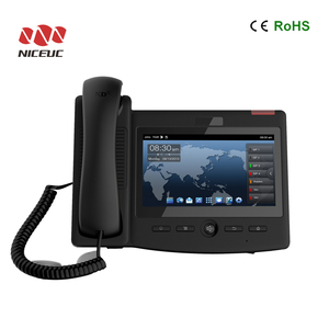 IP phone 6 Line PoE, COLOR HD pbx phone system