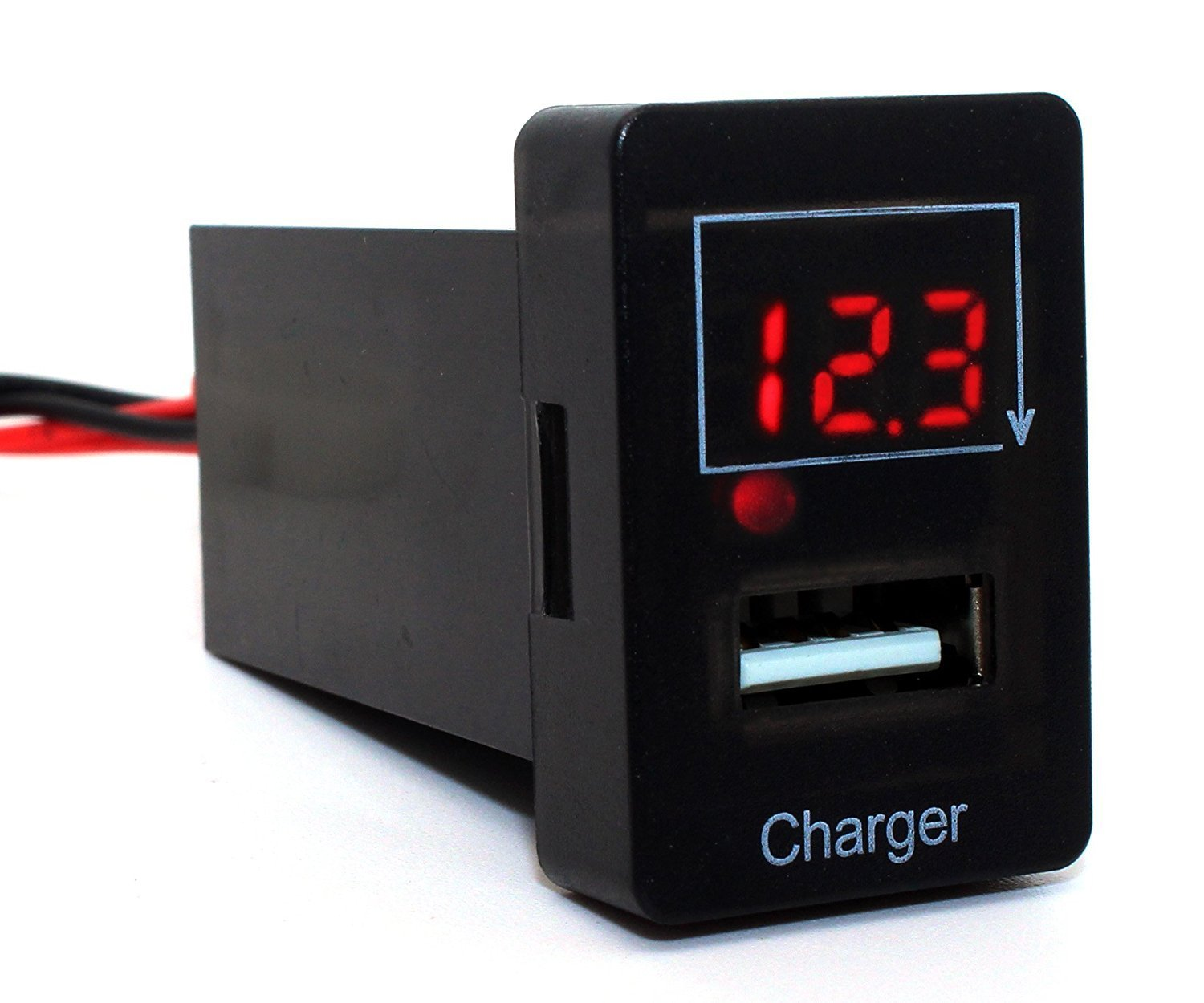 Cheap Usb Socket Wiring Find Deals On Line At Charger Get Quotations Cllena Toyota Voltmeter Tester 19ft And Fuse Power