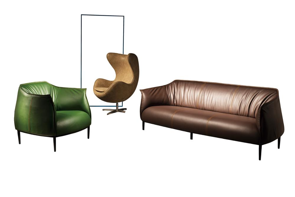Moderne Stil Schnitts Sofa Wohnmbel Set Design Wohnzimmer Sofas Und Metall Beine Pu Ledercouchgarnitur
