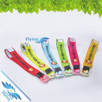Custom Embroidered Wristbands, Custom Embroidered Wristbands Suppliers and  Manufacturers at Alibaba.com