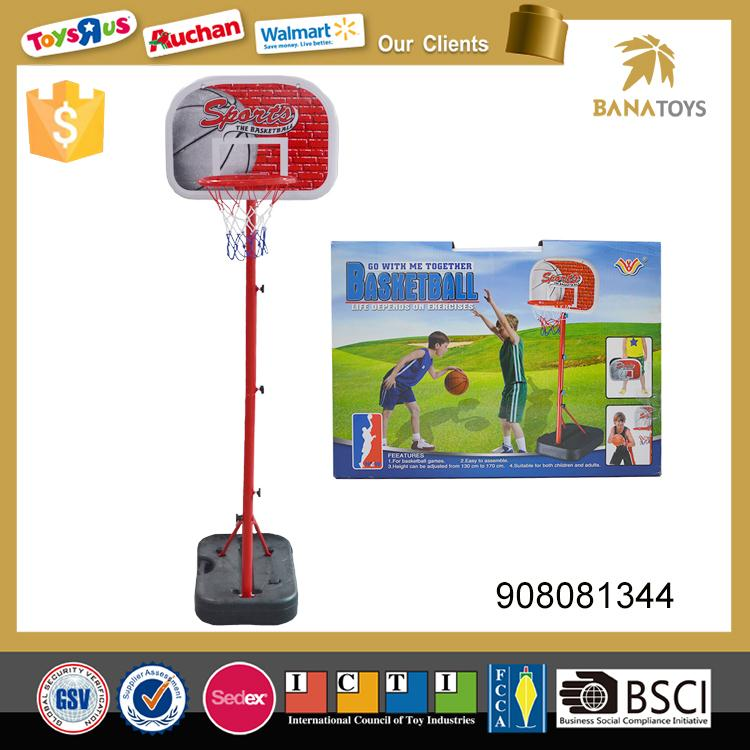 Wholesale kids movable portable mini basketball hoop stand