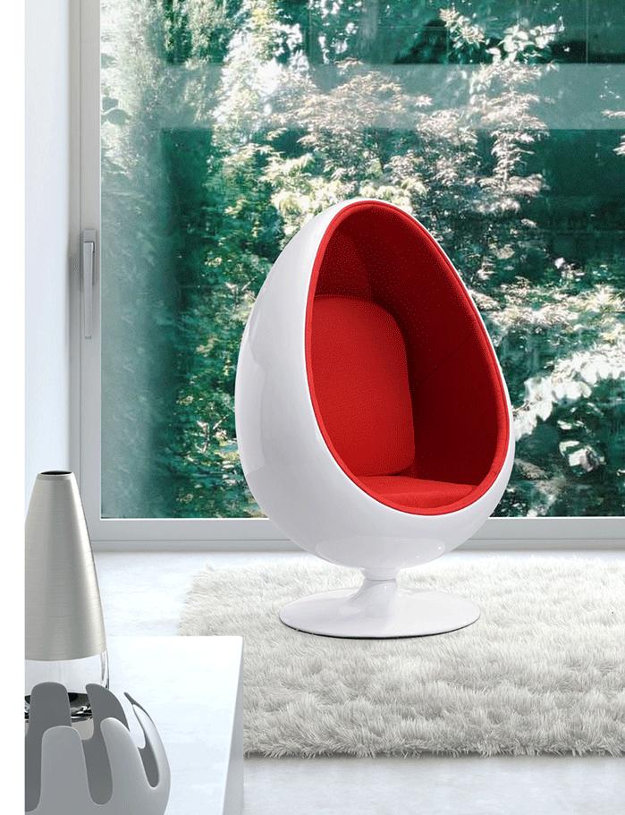 레저 섬유유리 현대 스윙 lol 라운지 모드 포드 스피커 긴장 안락 sessle 아이 포드 타원형 공 의자