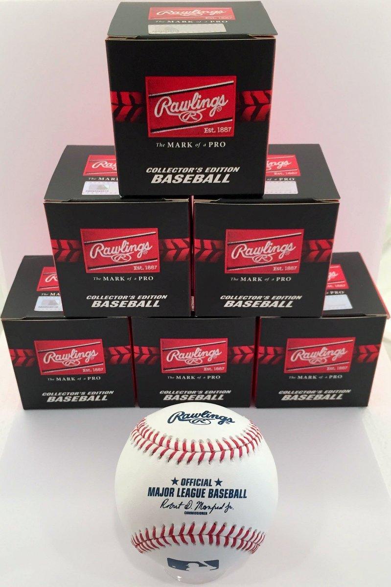 Rawlings Official Major League Game Baseball - ROMLB - 1/2 Dozen (6)
