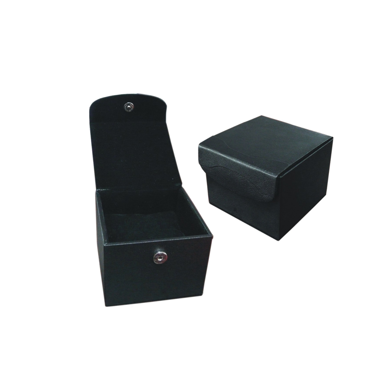 Hot sale sewing PU leather jewelry cufflink box