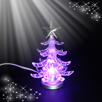 Best Selling USB Mini Tabletop Gifts LED Christmas Tree
