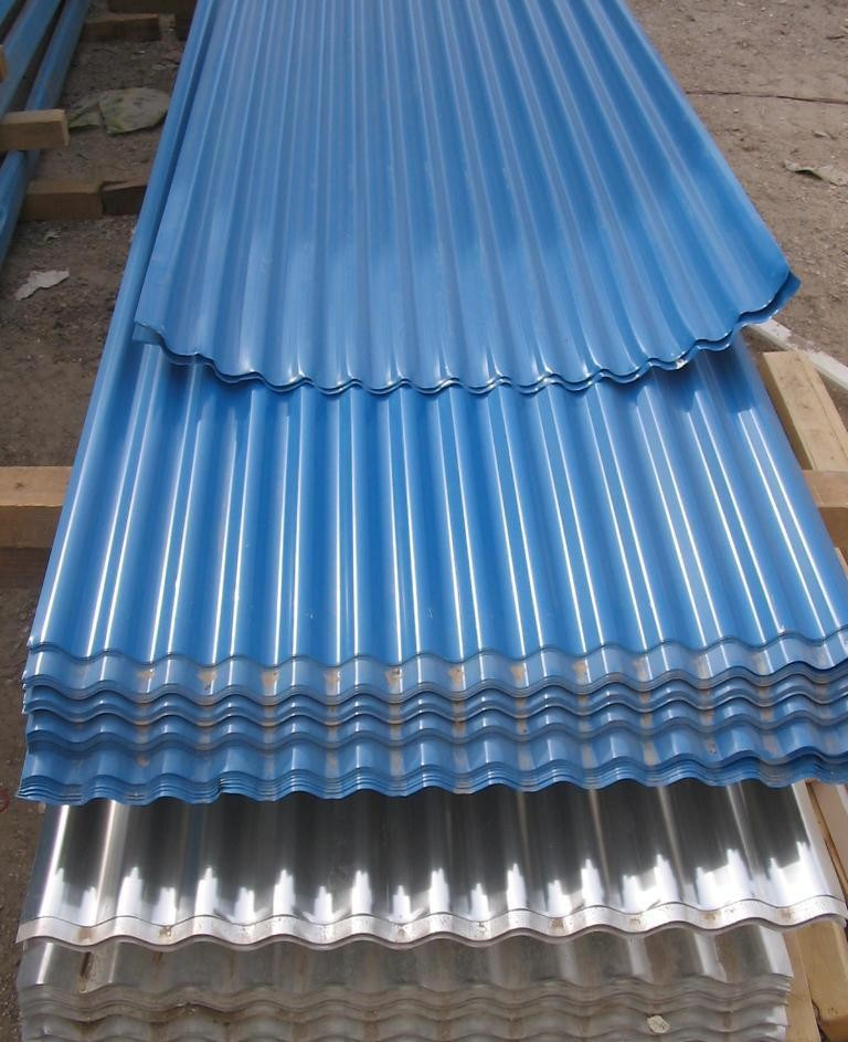 Low Cost Roofing Material Galvanized Corrugated Steel