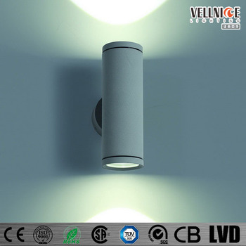 2*(3*1)w Cylinder Edison Led Outdoor Wall Light Ip54 /wall Mounted ...