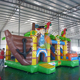 Inflatable Slide Bouncer House,2017 Best Sale Crazy Fun Jumping Castle,