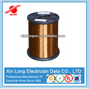 high heating resistance high grade thin/thick coated enameled copper wire