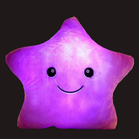 China's cute and cheap bright stars are available for pillows and shiny colored plush toys that can be customized wholesale