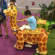 LORISO5015 New Design amusement park animal giraffe kiddie ride