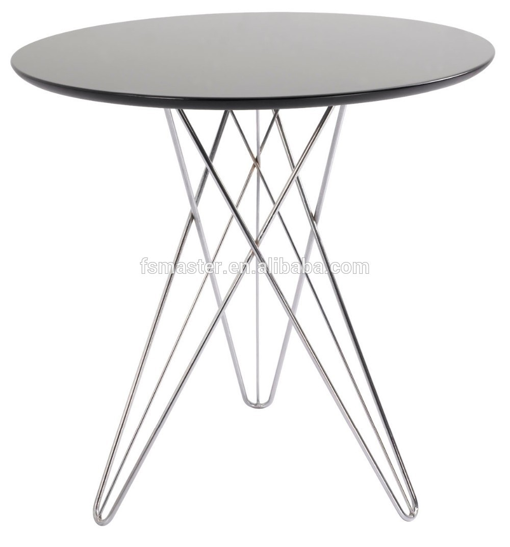 Mdf-platte Wohnzimmer Couchtisch Drahtfuß Tisch - Buy Product on ...