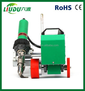 automatic plastic welding machine/pvc hot air welder for sale