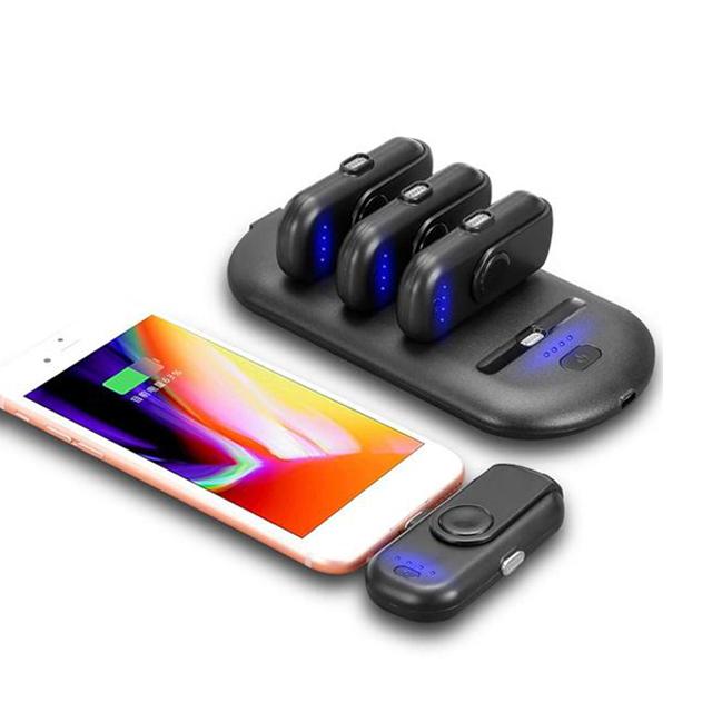 혁신적인 제품 2018 휴대용 마그네틱 파워 뱅크 충전기 핸드폰
