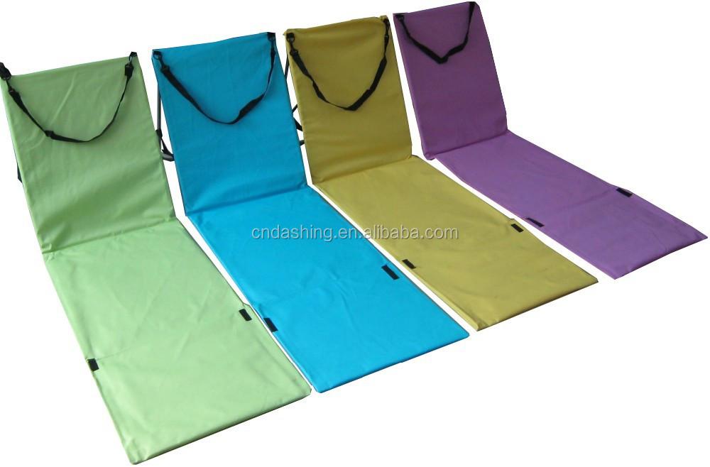 pliable tapis de plage avec dossier chaise pliante id de produit 1826572790. Black Bedroom Furniture Sets. Home Design Ideas