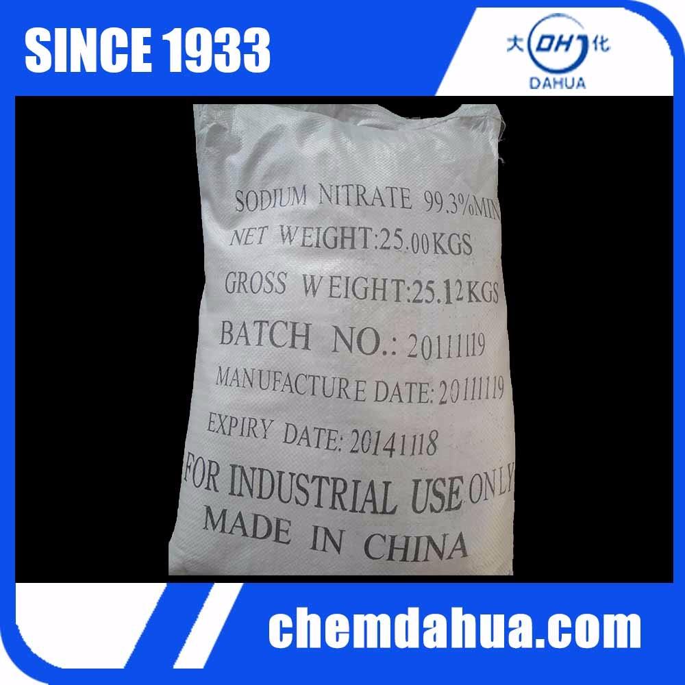 99%min Cas No. 7632-00-0 Sodium Nitrite Sodium Salt Nano2
