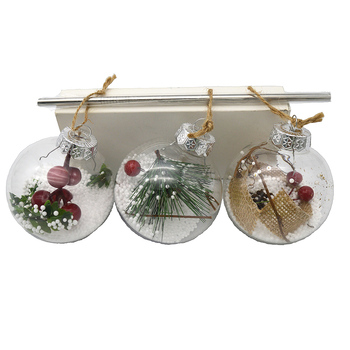 Christmas Ball Clear Shatterproof Ornaments Creative Hobbies Round Clear Plastic Ball Ornaments For School And Bar