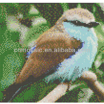 Decorative Bird Mosaic Patterns For Wall Decoration Buy