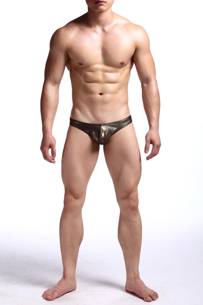 Men Sexy Shining Underwear G-string Body Shaping Imitation Leather Legging  Thongs - Buy Men Sexy Leather Thong b3a534028