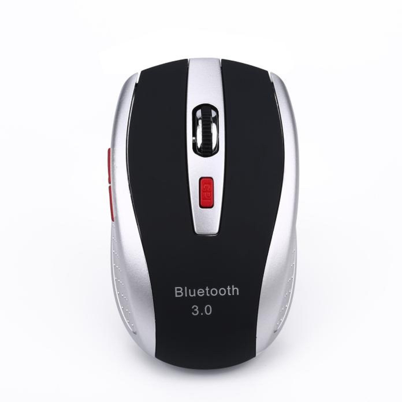 elegantstunning Wireless Gaming Mouse Rechargeable Optical LED Computer Mouse for Mac//PC//Laptop Black