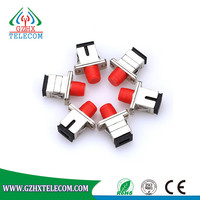 SC to FC Flanged Type Fiber Optic Adapter,Singlemode and Multimode provide
